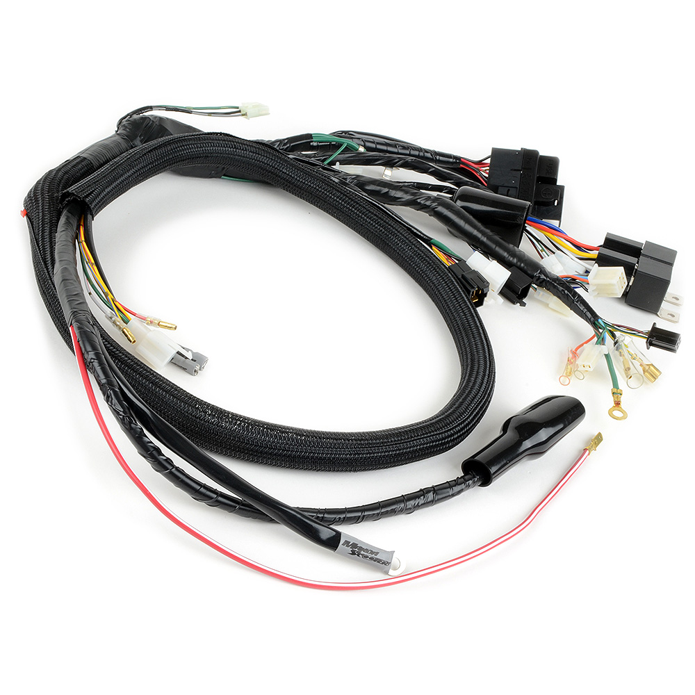 Makoa Scooters GY6 into Ruckus PlugnPlay Harness NO CORE NEEDED – Gy6 Wiring Harness