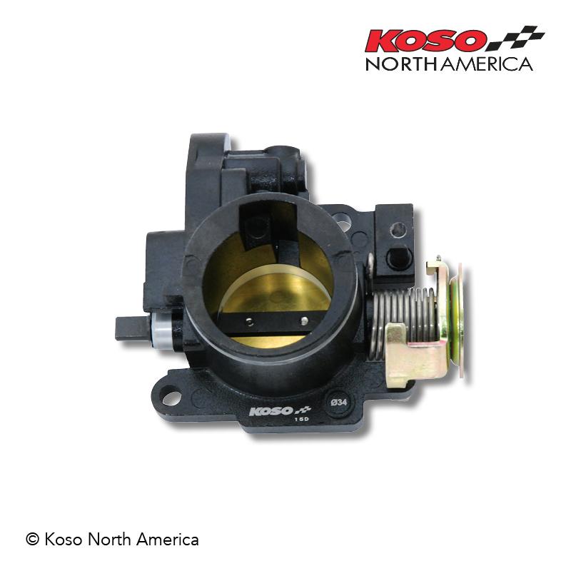 GROM KOSO 34mm Throttle Body Kit