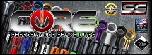 GROM Core Moto Stainless Brake Lines (Front & Rear)