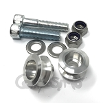 Billet Pit Stand Swingarm Spools for Billet Stoppers