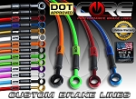2014-2015 GROM/MSX125 Core Moto Stainless Brake Lines (Front & Rear)