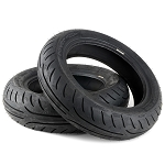 Michelin PowerPure Tires 120/70-12 Front 140/70-12 Rear Set